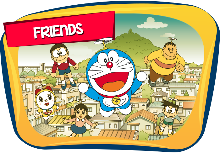 Doraemon-Friends-Icon